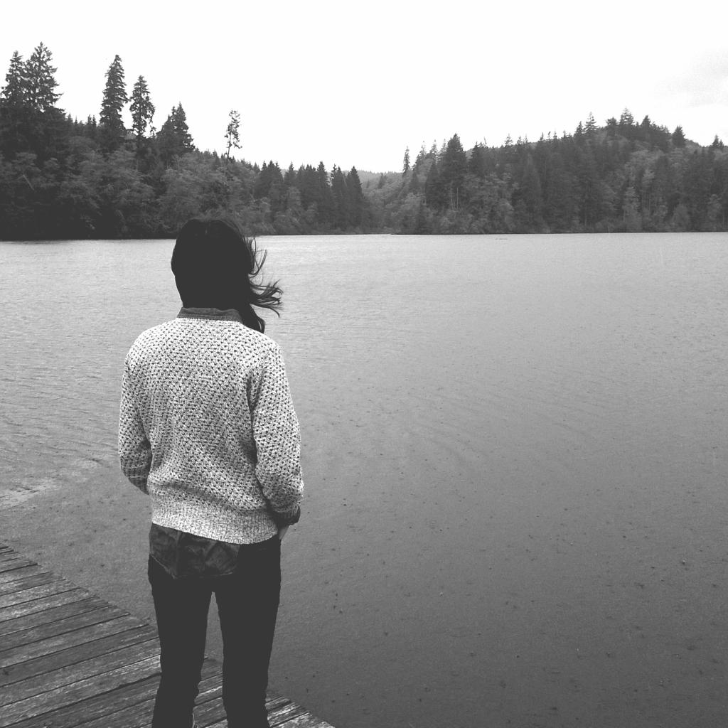 lake b&w
